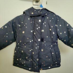 Full sleeve hooded jacket